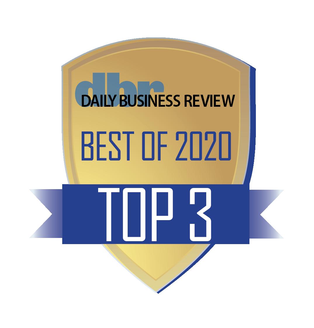 DBR Best Of Top 3 Logo