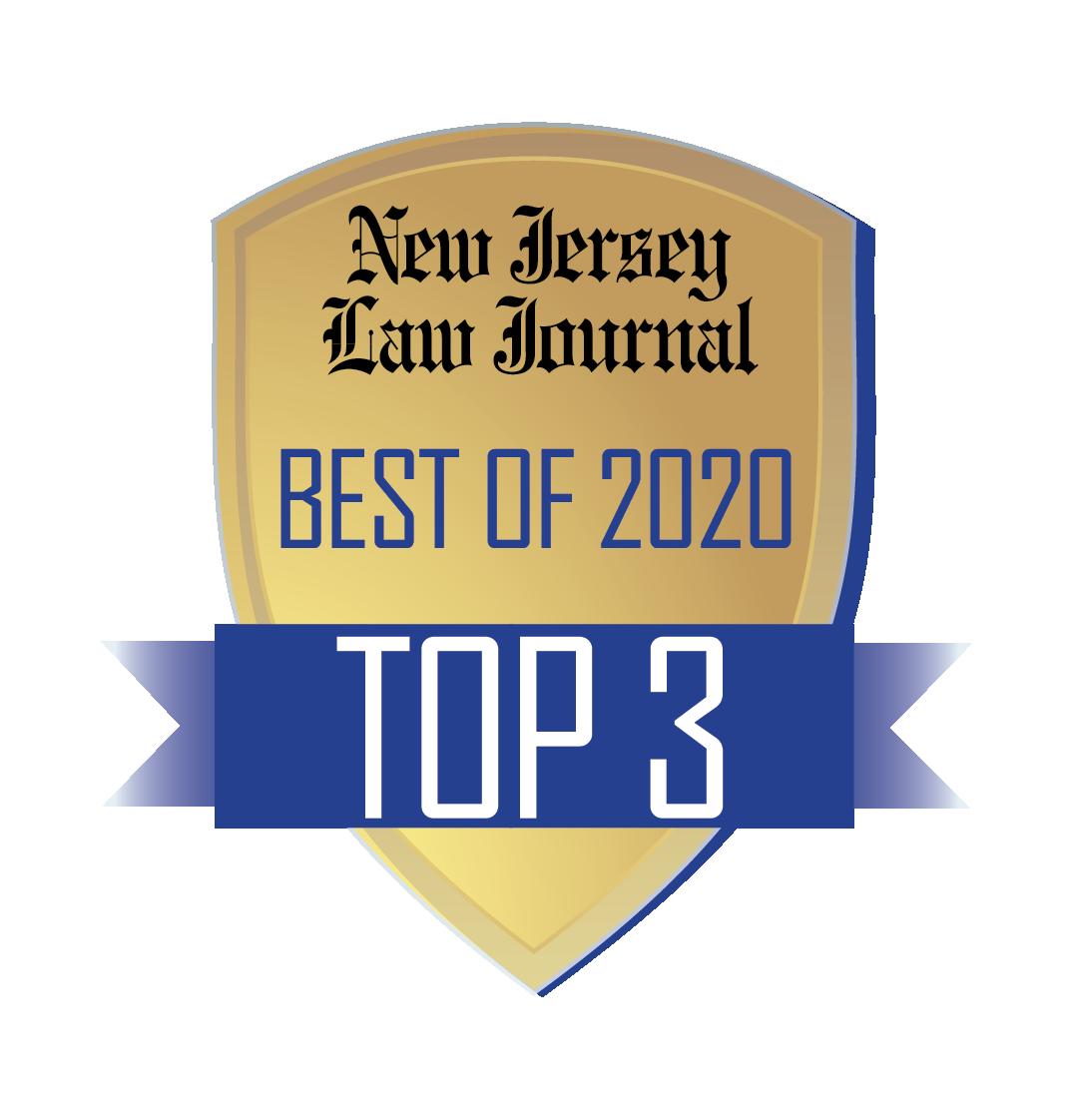 NJLJ Best Of Top 3 Logo