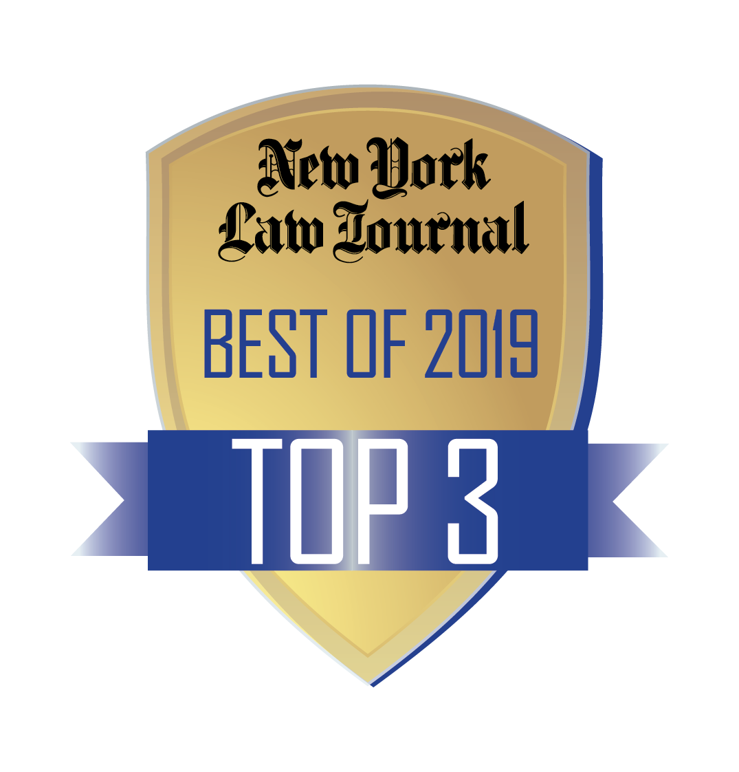 NYLJ Best Of Top 3 Logo