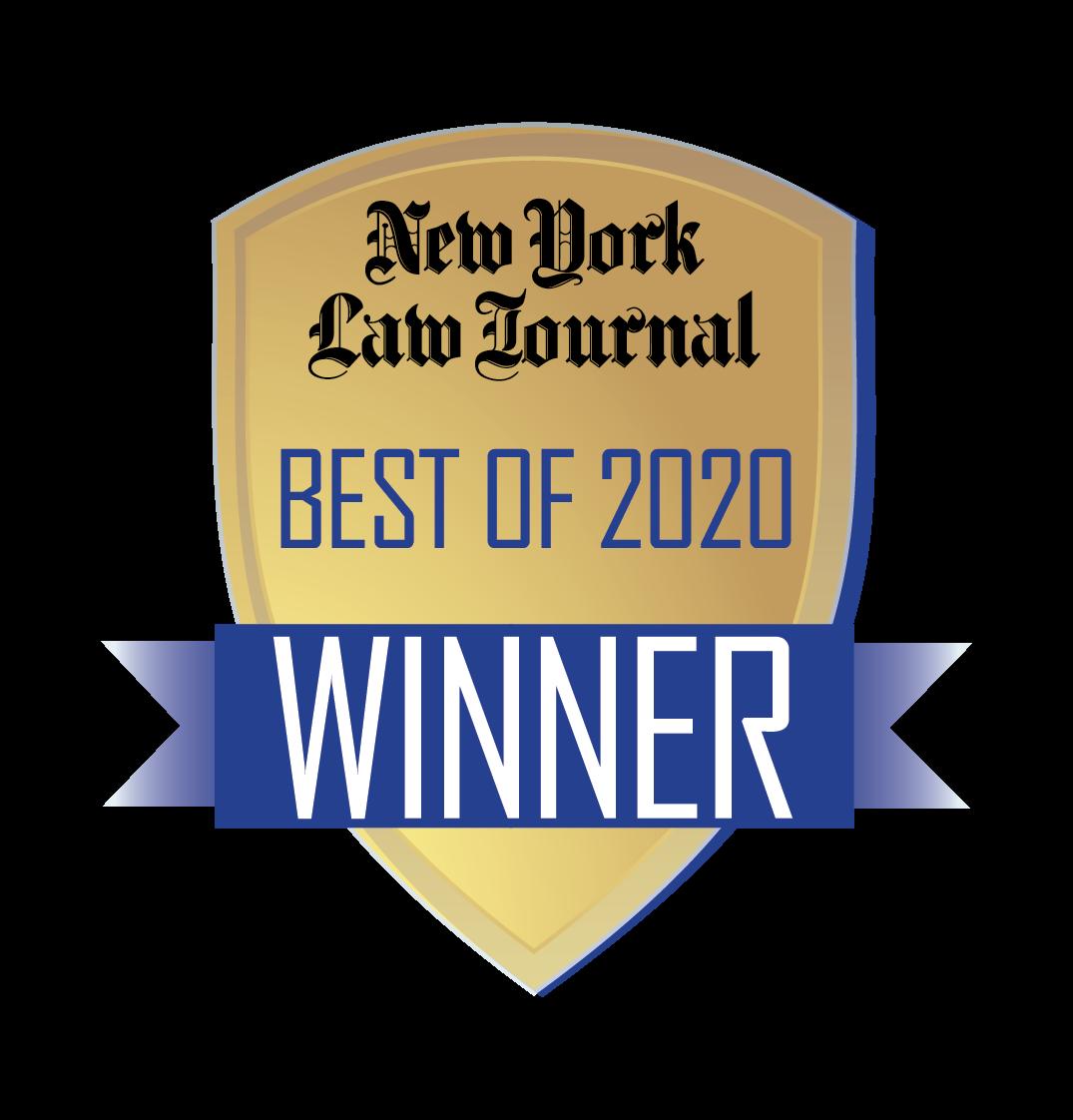 NYLJ Best Of Winner Logo